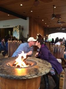 Fireside fun!