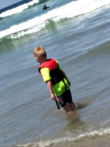 Grant loved the waves